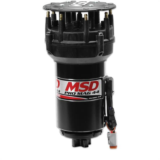 MSD 81407 Pro Mag 44 Amp Generator, CCW Rotation, Pro Cap, Band Clamp