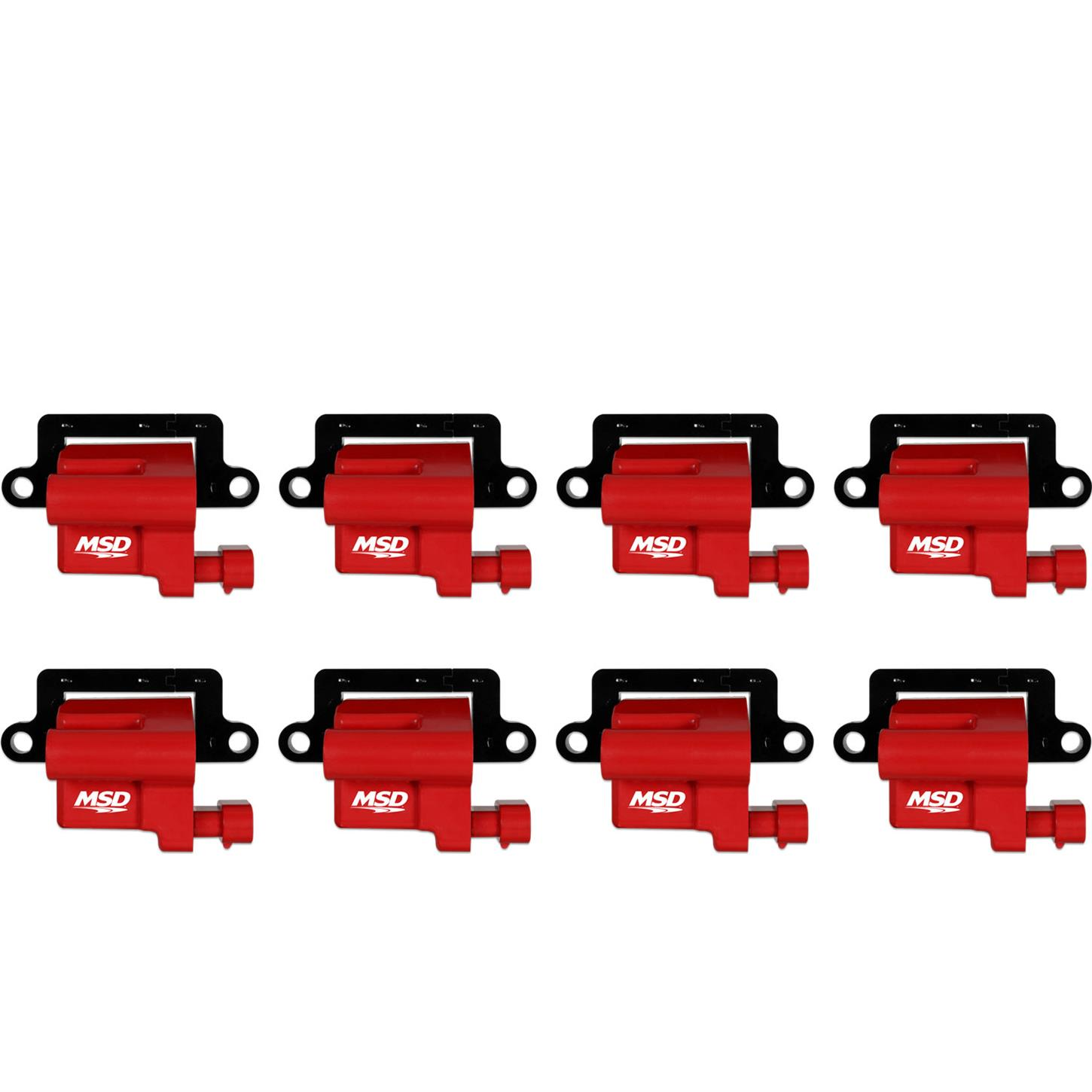Msd 82648 Blaster Ls Coil For 99 09 Gm L Series Truck 8pack Pack Wiring