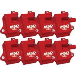 MSD 82858 Multiple Spark Plug Coil Kit for LS1, LS6, 8-Pack