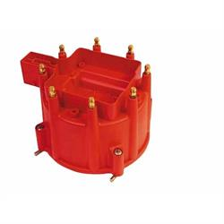 MSD 84111 Extreme Output GM HEI Distributor Cap, Red