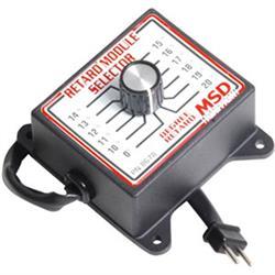 MSD 8678 Retard Selector Switch 0 Deg, 10 Deg-20 Deg