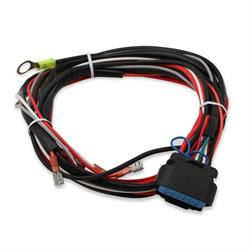 on msd 6010 wiring harness