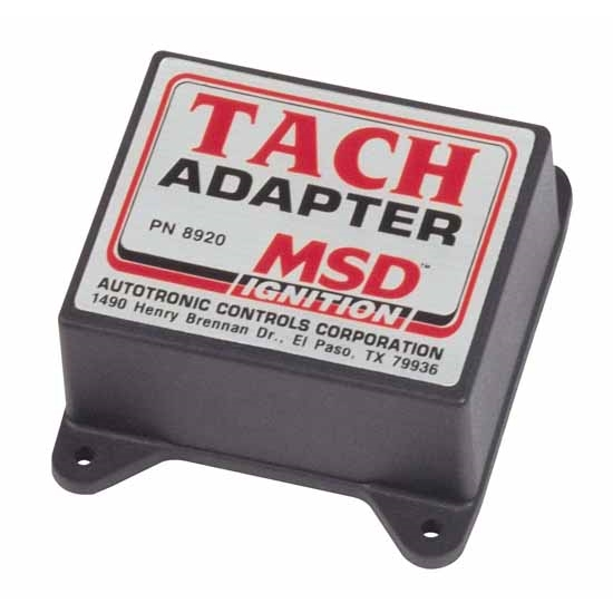 msd 8920 tach adapter, magnetic trigger  universal fit