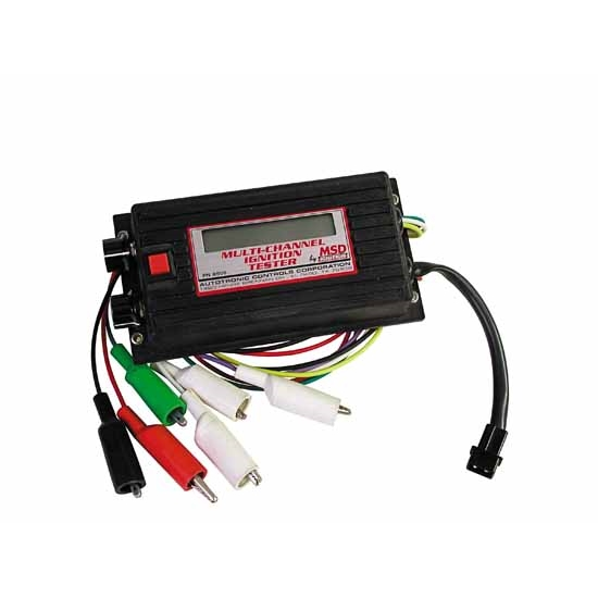 MSD 8996 Multi-Channel Digital Ignition Tester