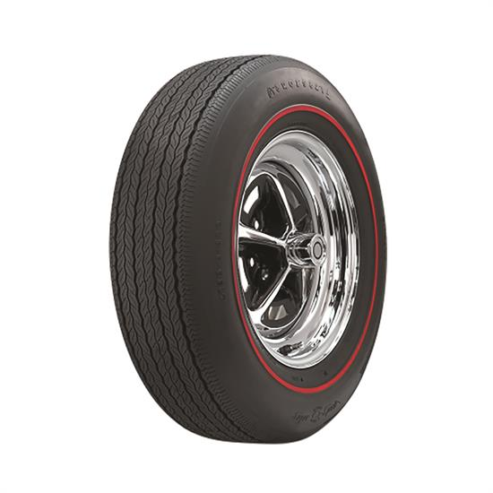 Coker Tire 54890 Firestone Wide Oval Redline Tire, FR70-14