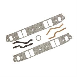 Mr Gasket 102G Intake Gaskets, 1955-91 SBC 262-400, Rectangle Port