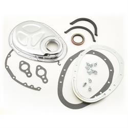 Mr Gasket 1099 Timing Cover, Quick Change, 2-Piece, SBC