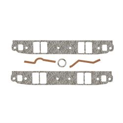 Mr Gasket 116 Intake Gaskets, 1955-91 SBC 262-40, Rectangle Port