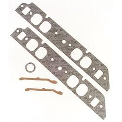 Mr Gasket 117 Intake Gaskets, Oval Port, BBC