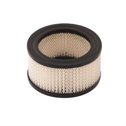 Mr Gasket 1489A Air Filter, Replacement Element, 4 x 2 Inch, White