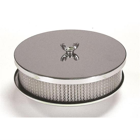 Mr Gasket 1491 Air Cleaner, 6-1/2 x 2 Inch
