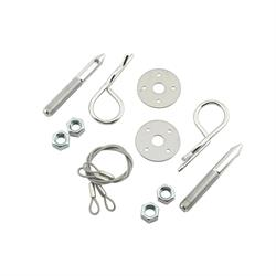 Mr Gasket 1619 Hood Pin Kits with Safety Pins, Oval Track
