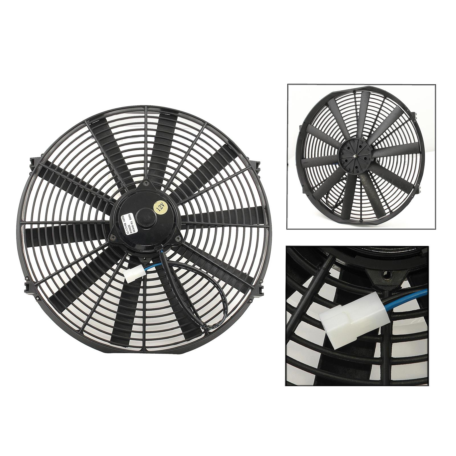 Mr Gasket 1986 Electric Cooling Fan