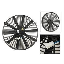 Mr Gasket 1988MRG Electric Cooling Fan, Reversible, 16 Inch, 2000 CFM