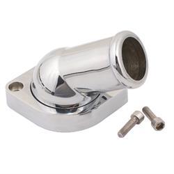 Mr Gasket 2670 Swivel Water Neck, Die-Cast Aluminum