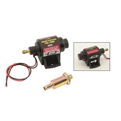 Mr Gasket 42S Electric Fuel Pump, 2 PSI/3.5 PSI, 28 GPH