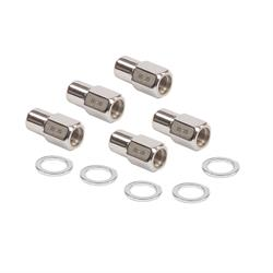 Mr Gasket 4301G Competition Open Lug Nuts, 1/2 Inch, Set of 5