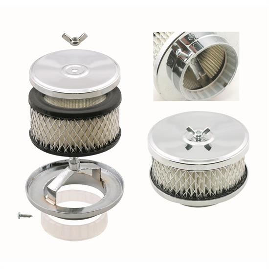16 Inch Air Cleaner : Mr gasket air cleaner deep dish inch
