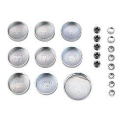 Chevy 283-350 V8 Steel Freeze Plug Set