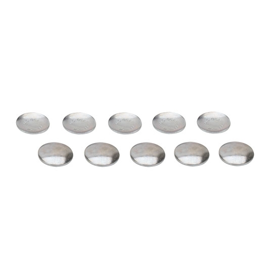 Concave Expansion Freeze Plugs, 1.250 Inch Steel