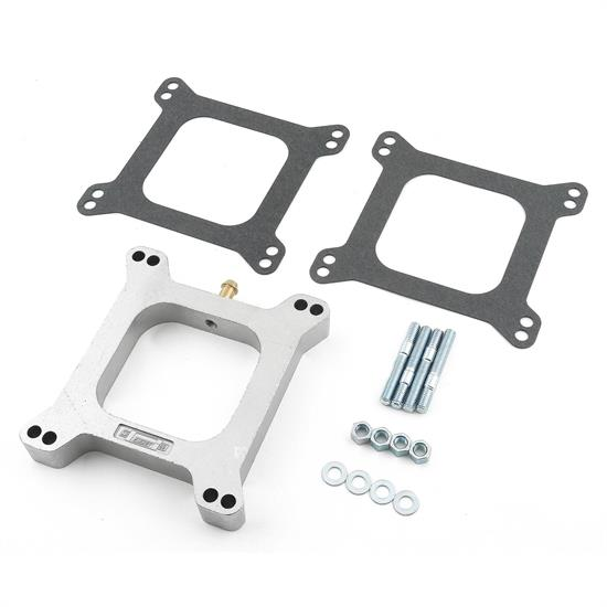 Mr Gasket 4945 Carburetor Spacer Kit, 1 Inch Open Center