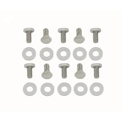 Mr Gasket 5008 Chrome Timing Cover Bolts, SBC