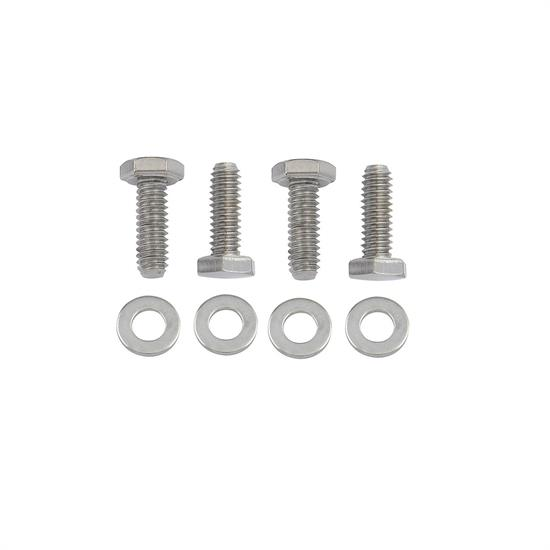 Mr Gasket 5019 Chrome Valve Cover Bolts, 1/4-20 x 3/4 Inch