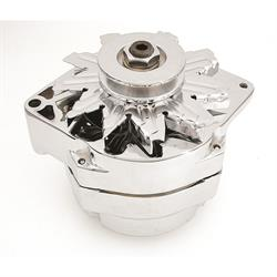 Mr Gasket 5124 Chrome Alternator, Ford, 70 Amp