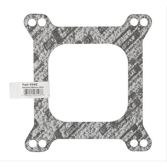 Mr Gasket 54G Carburetor Base Gasket, 4 Barrel, Open Center