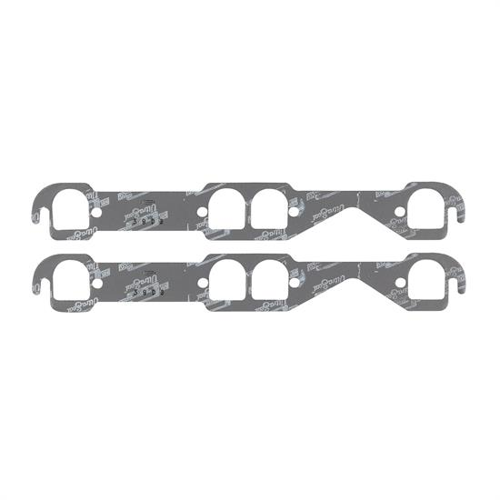 Mr Gasket 5903 Exhaust Gaskets, Small Block Chevy, 1.55 x 1.71 Inch