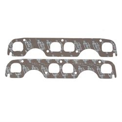 Mr Gasket 5906 Exhaust Gaskets, Small Block Chevy, 1.65 x 1.60 Inch