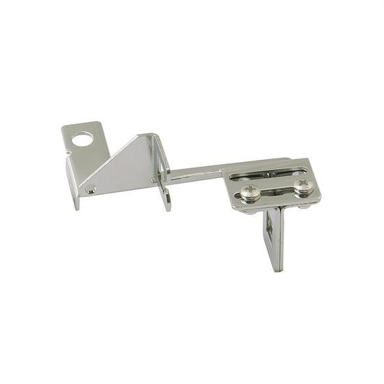 Mr Gasket 6039 Throttle Kickdown Cable Bracket, Chrome