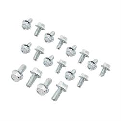 Mr Gasket 6085MRG Oil Pan Bolts, 90 Degree