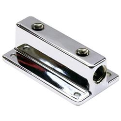 Two Outlet T-Style Chrome Fuel Block