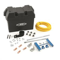 Mr Gasket 6279 Battery Box Kit, Trunk Mounted