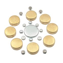 Mr Gasket 6481 BRASS FREEZE PLUG KIT