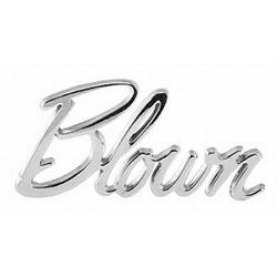 Blown Script Emblem