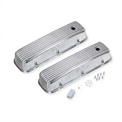 Mr Gasket 6859G Aluminum Tall Valve Covers, 396/454 Chevy