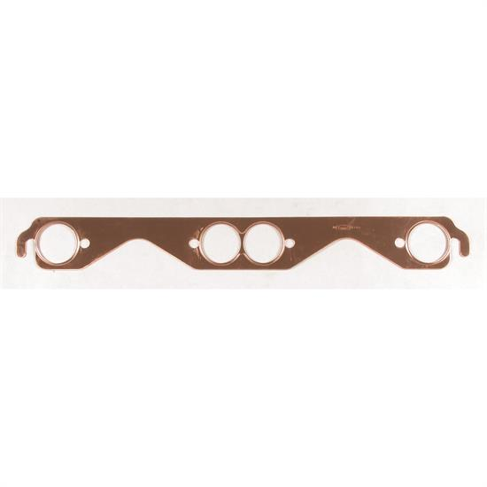 Mr Gasket 7152G Exhaust Gaskets, Small Block Chevy, Round Ports