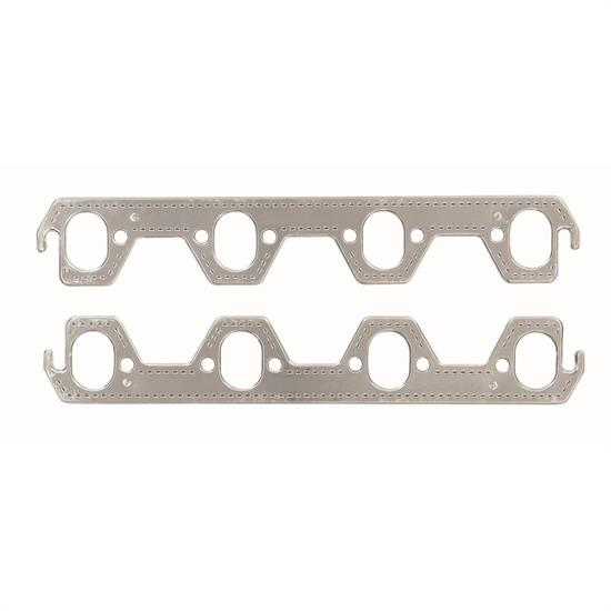 Mr Gasket 7411G Exhaust Gaskets, Small Block Ford, Oval Ports