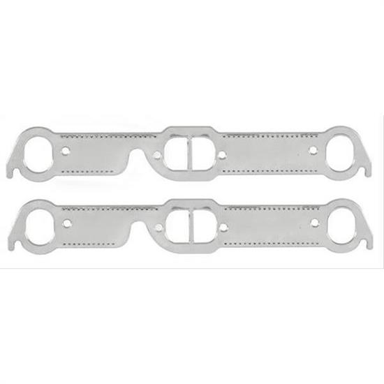 Mr Gasket 7418G Header Gaskets, Pontiac 326-455, Oval Ports