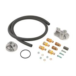 Mr Gasket 7682 Remote Oil Filter System, Single Filter