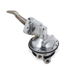 """Chrome High Volume Fuel Pump /& 1//4/"""" Inline Filter Fit Ford BBF 390 406 427 428"""