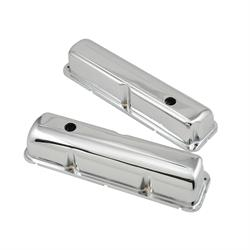 Mr Gasket 9412 Chrome Valve Covers w/Baffle, 1958-76 Ford 332-428 FE