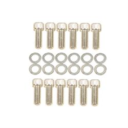 Mr Gasket 956G Chevy Intake Manifold Bolt Kit, 3/8-16 x 1 Inch