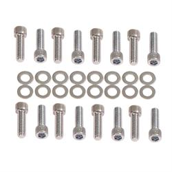 Mr Gasket 957G Chevy Intake Manifold Bolt Kit, Socket Head