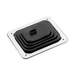 Mr Gasket 9648 Shifter Boot, Small, 3-1/2 in x 4-1/2 Inch