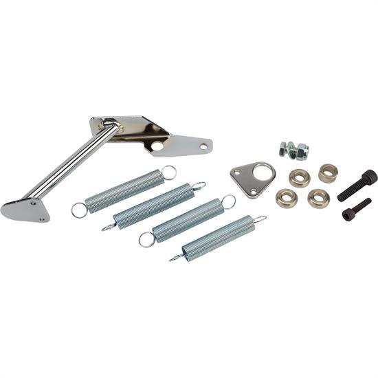 Throttle Return Spring Bracket Kit For Holley 2300 2305 4150 4160 Carb Chrome