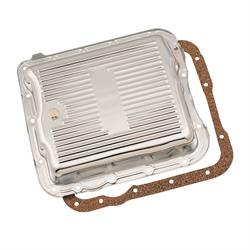 Mr Gasket 9732 Chrome Transmission Oil Pan,GM TH700R4