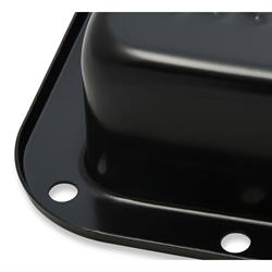 Mr Gasket 9756BMRG Transmission Oil Pan, Ford C6, Black
